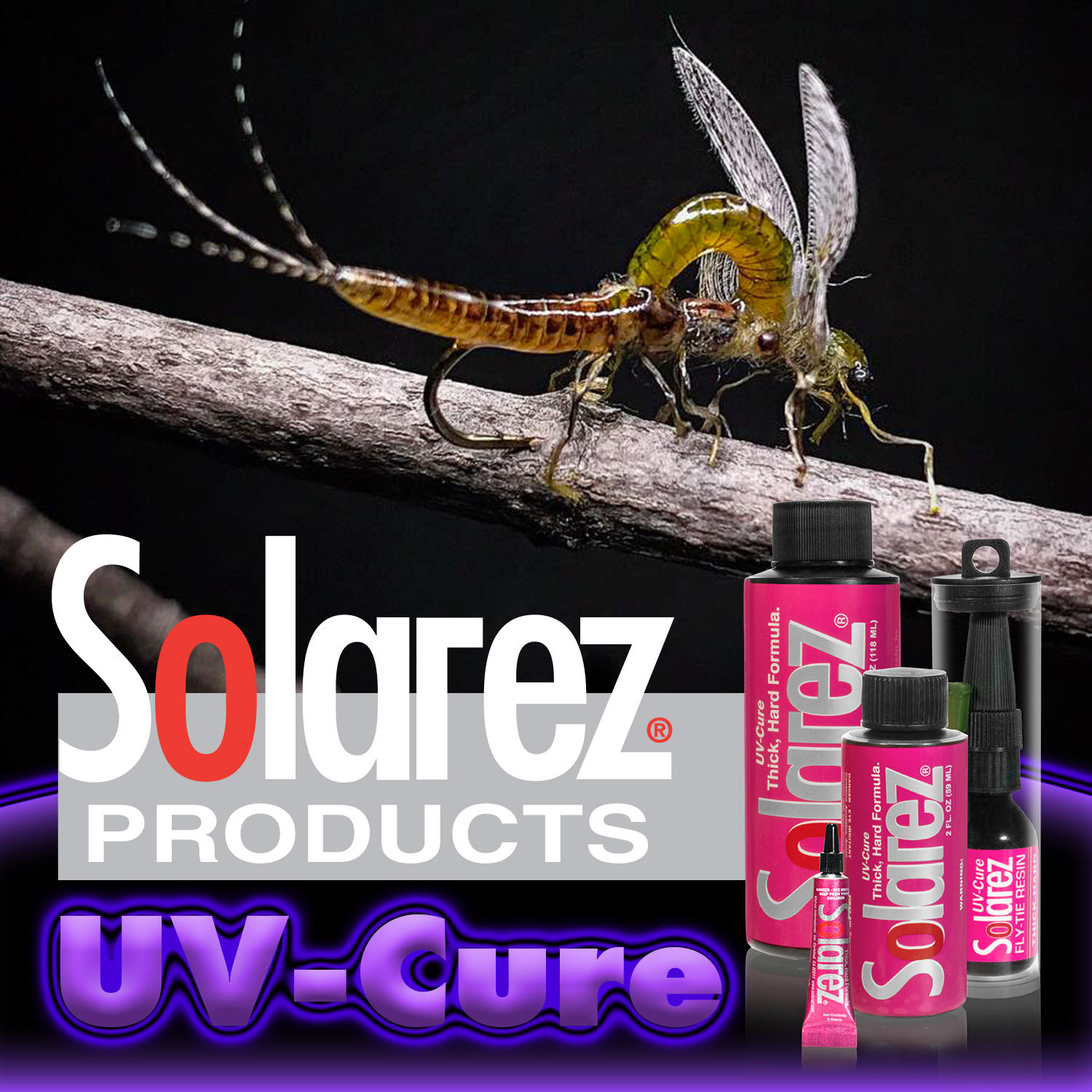 Fly-Tie Thick-Hard Formula | Solarez UV Resins