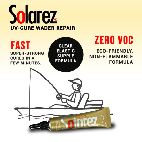 UV-Cure Wader Repair | Solarez UV Resins