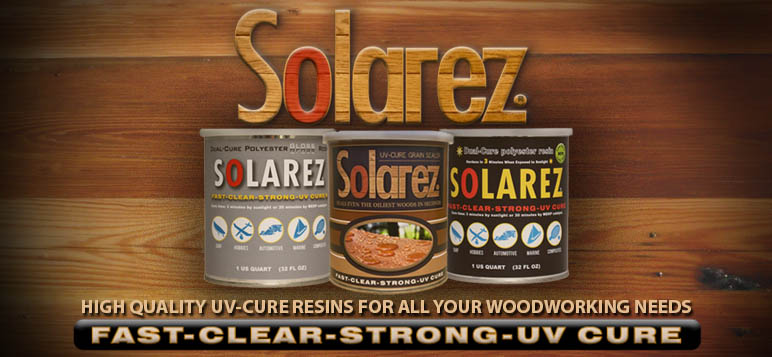 Solarez UV Resins | Hardens in 3 minutes when exposed to uv