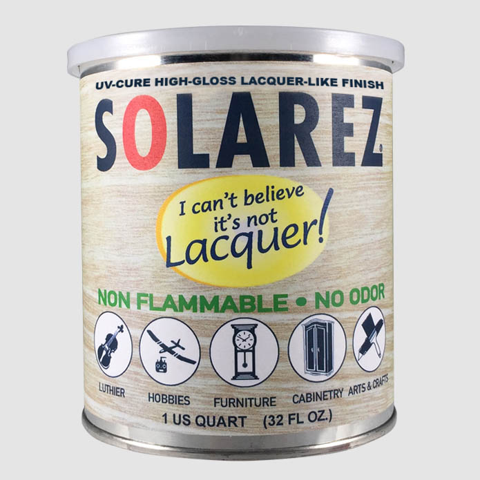 Spray-On I Can't Believe It's Not Lacquer | Solarez UV Resins